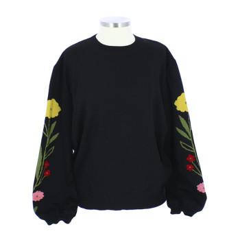 Jersey de lana negro La Casita de Wendy + Linard