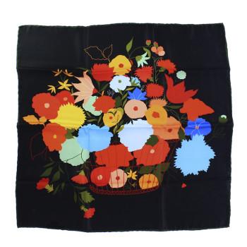 Pañuelo negro de seda La Casita de Wendy + Linard