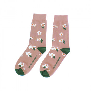 Calcetines flores O'Keeffe