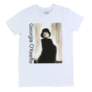 Camiseta ilustración Georgia O'Keeffe