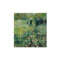 "small Decoración mural IXXI 100 X 100 cm Renoir ""Mujer con sombrilla"" 1"