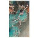 small Decoración mural IXXI 80 X 140 Bailarina basculando (Bailarina verde) Degas 1