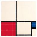 small Decoración mural IXXI 120 X 120 Composición de colores Piet Mondrian 1