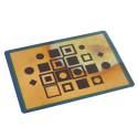 small Postal cobre Composición Vasarely 0