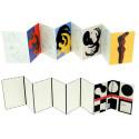 small Desplegable de postales para colorear Vasarely 1