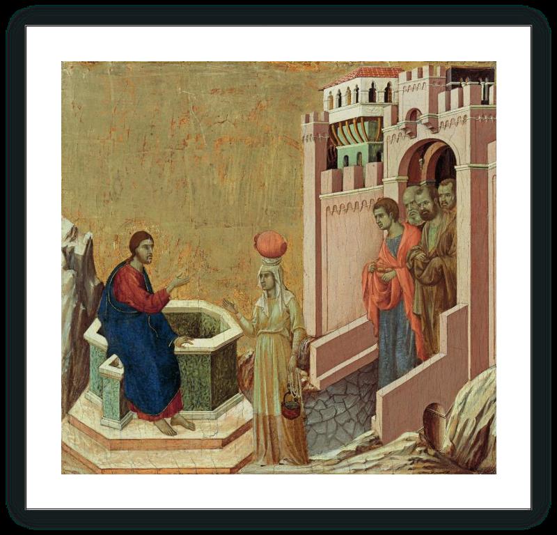 zoom Christ and the Samaritan Woman