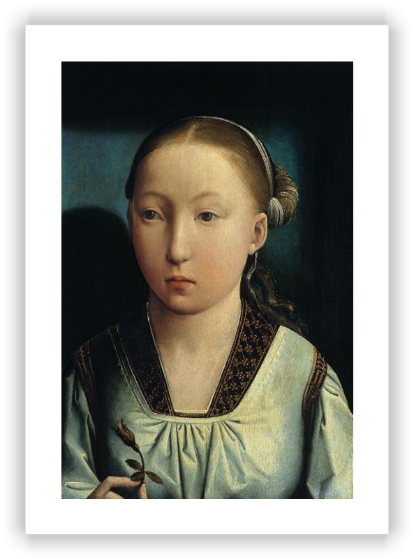 zoom Portrait of an Infanta. Catherine of Aragon (?)