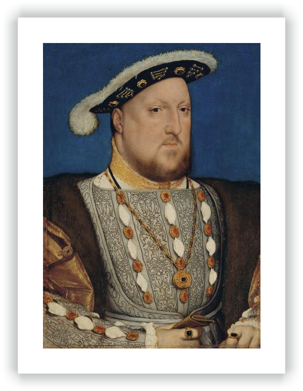 zoom Portrait of Henry VIII of England