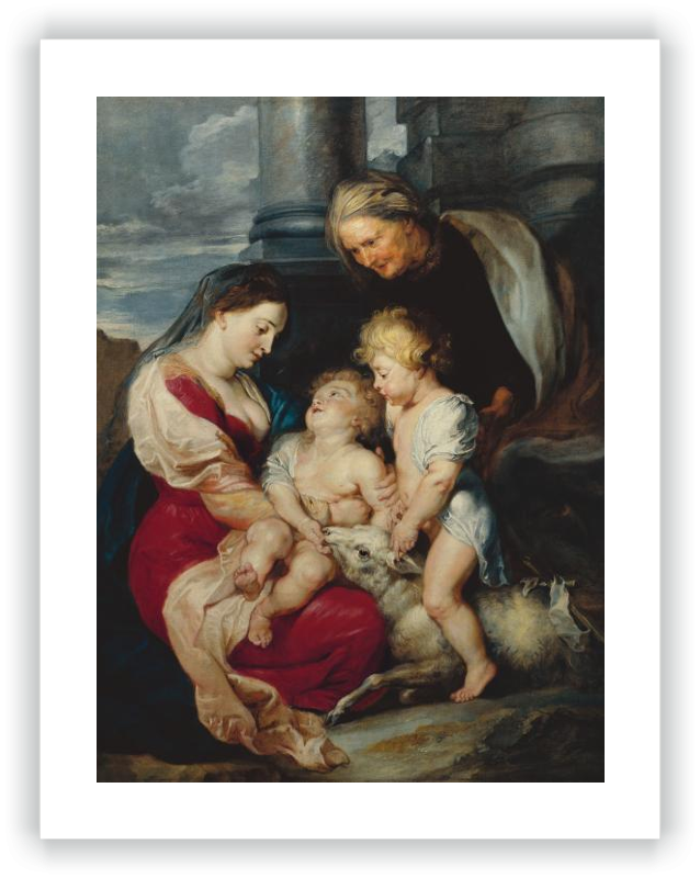 zoom The Virgin and Child with Saint Elizabeth and Saint John the Baptist