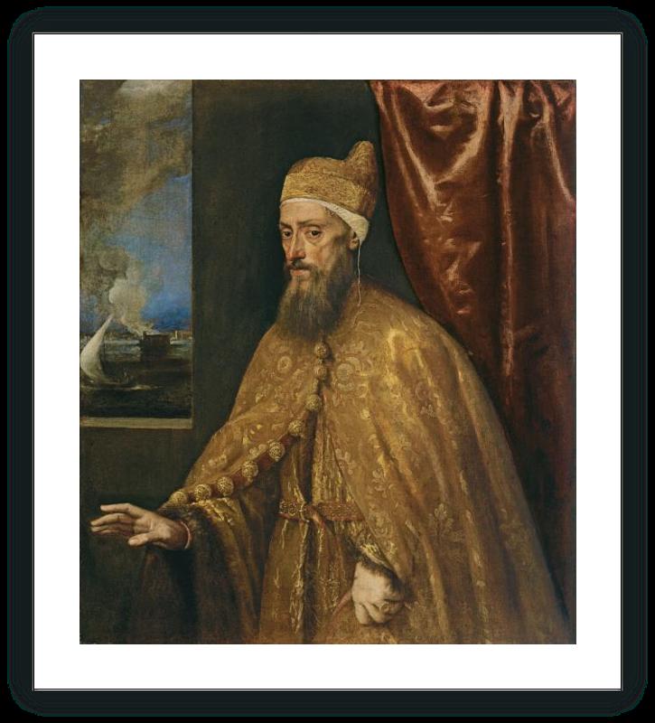 zoom Portrait of Doge Francesco Venier