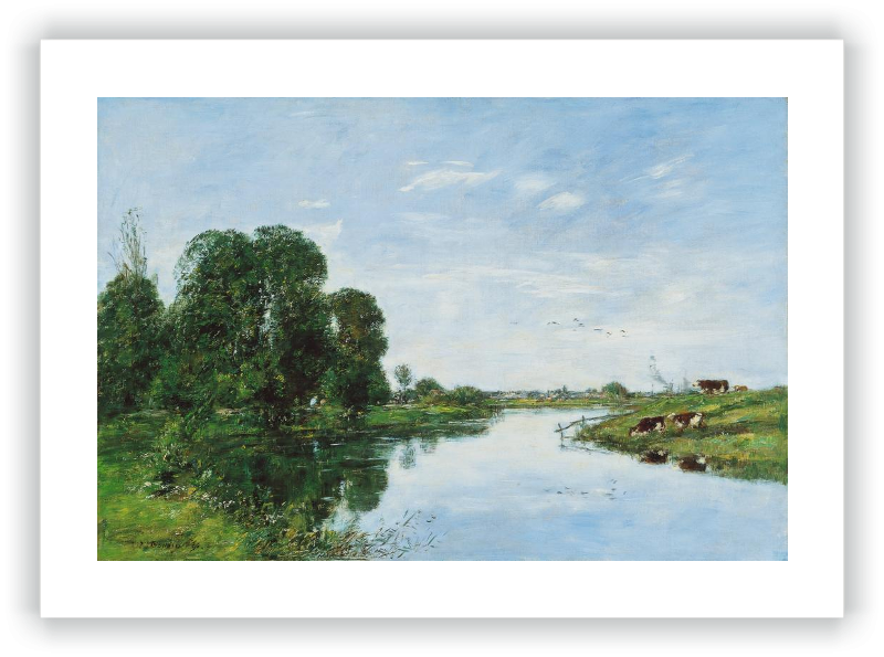 zoom The River Touques at Saint-ArnoulT