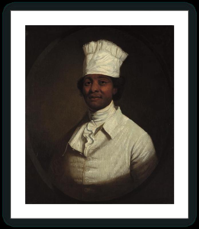 zoom Portrait of George Washington's Cook