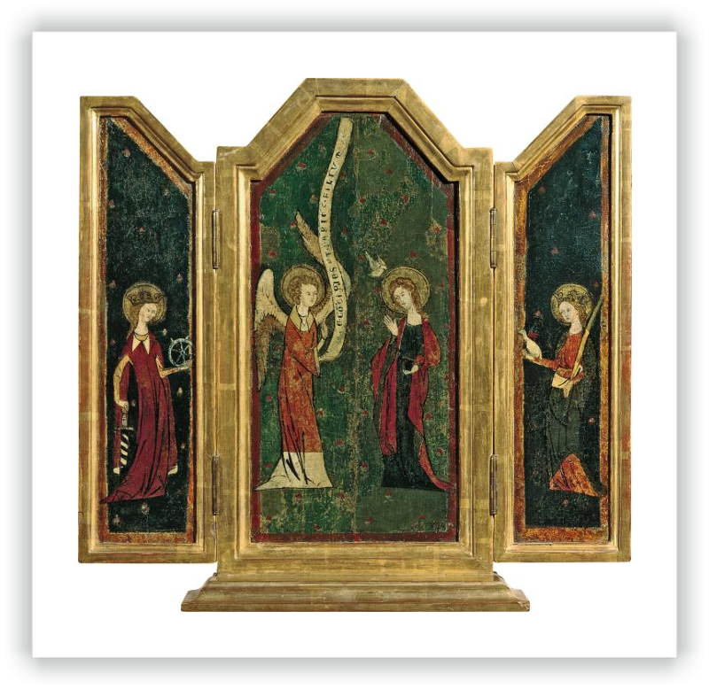 zoom The Annunciation Triptych