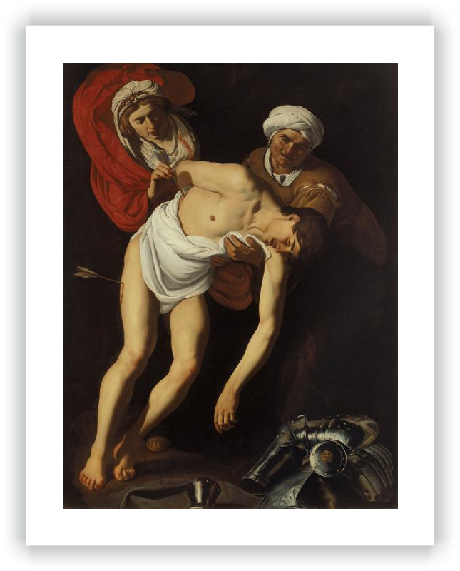 zoom Saint Sebastian Tended by Saint Irene and her Maid