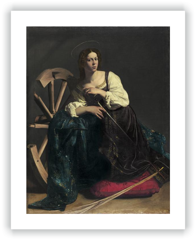 zoom Saint Catherine of Alexandria