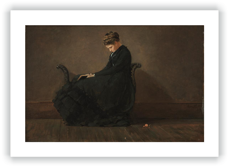 zoom Portrait of Helena de Kay
