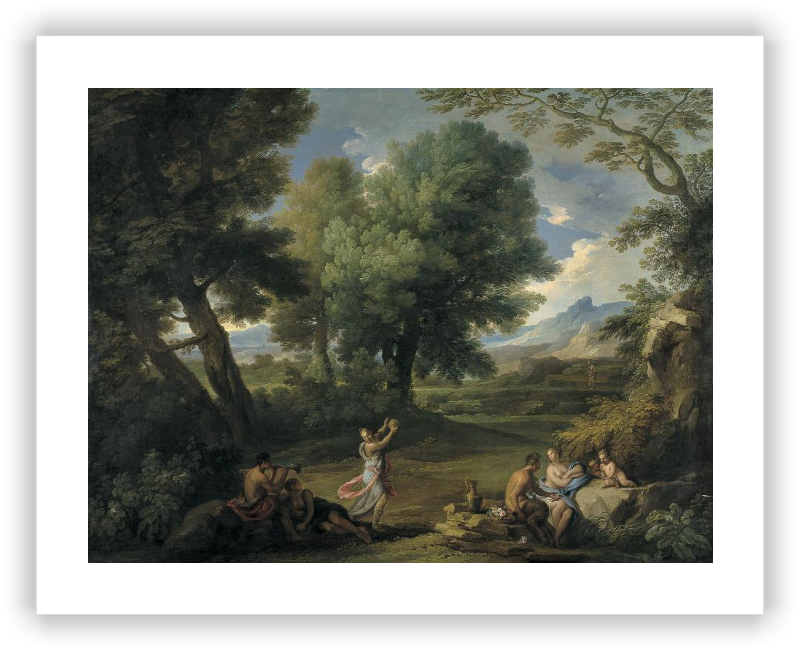 zoom Landscape with Nymphs and Satyrs