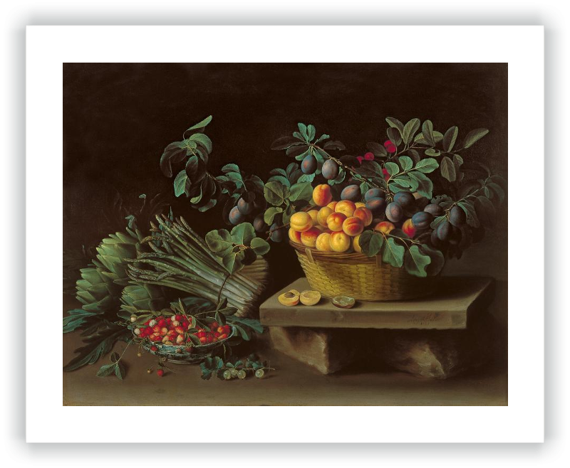 zoom Still-Life with Fruits