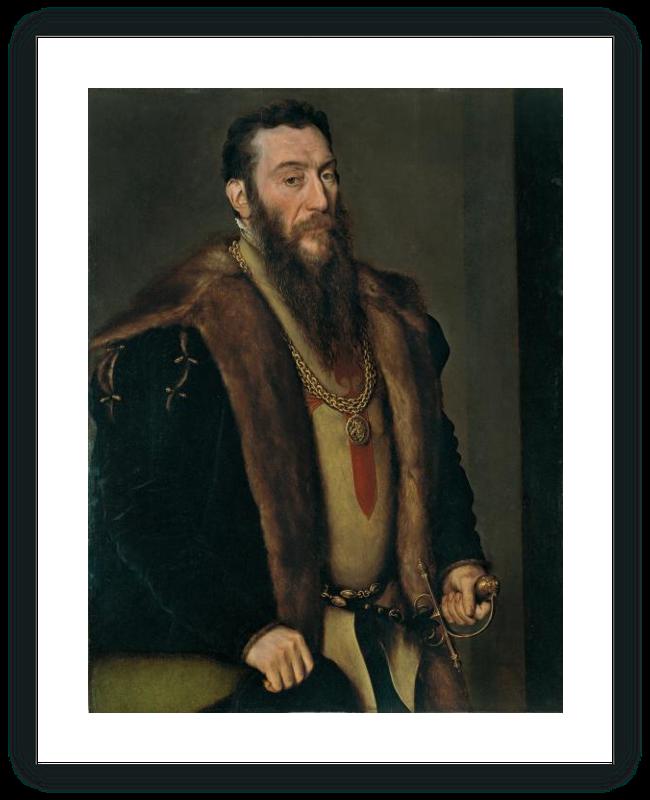 zoom Portrait of Giovanni Battista di Castaldo