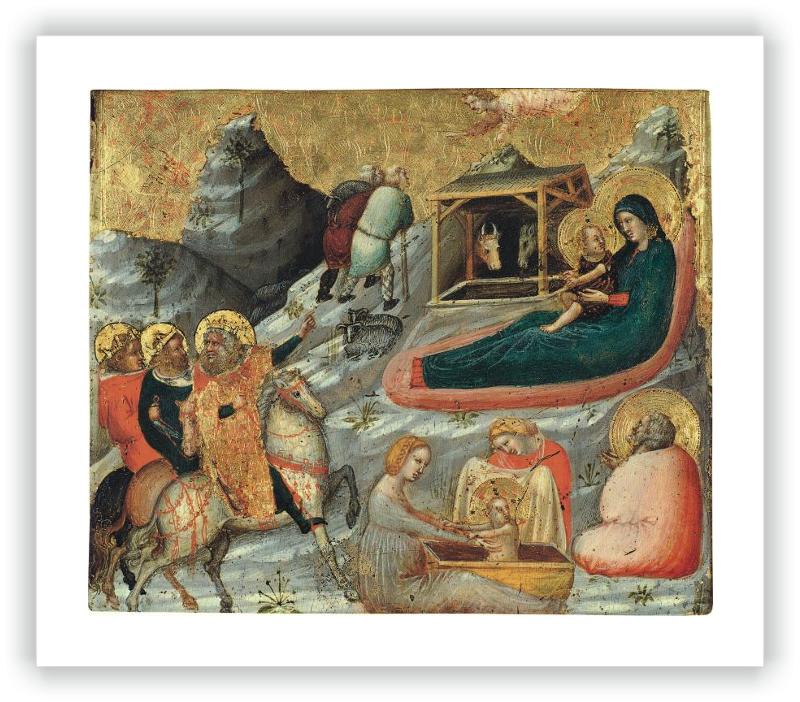 zoom The Nativity and other Episodes from the Childhood of Christ