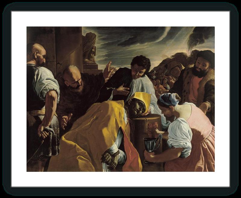 zoom The Beheading of St. Januarius