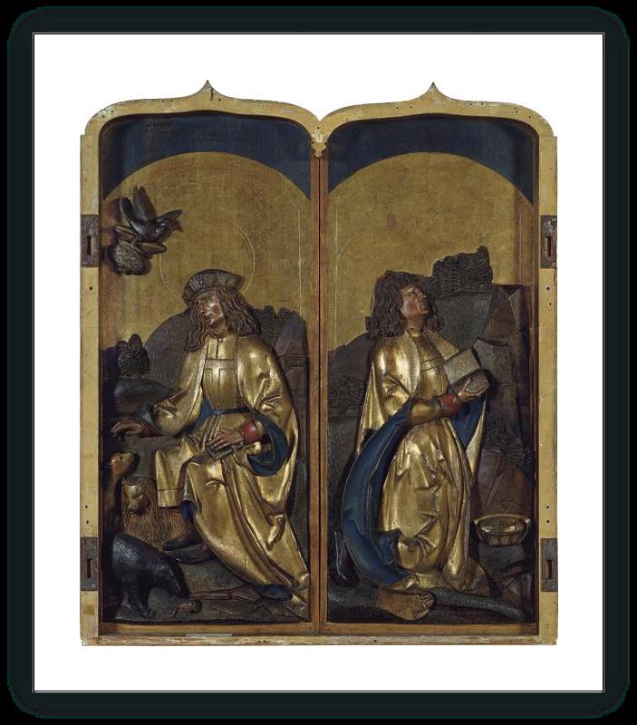 zoom Saint Paul the Hermit / Saint Anthony the Hermit