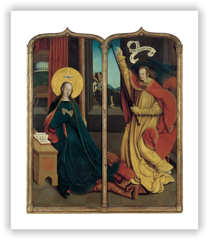 zoom The Virgin of the Annunciation / The Angel of the Annunciation