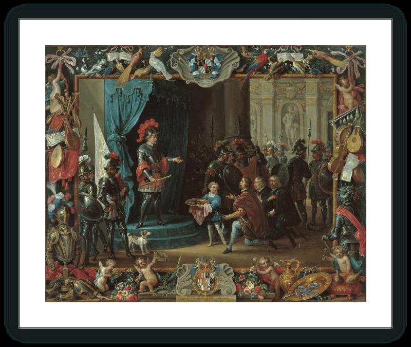 zoom The Submission of the Sicilian Rebels to Antonio de Moncada in 1411