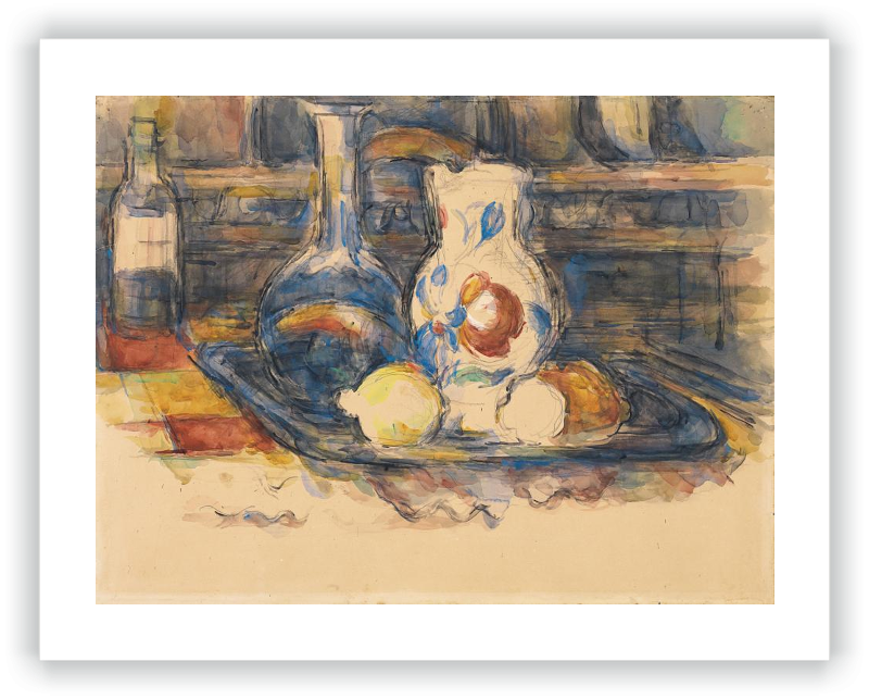 zoom Botella, garrafa, jarro y limones