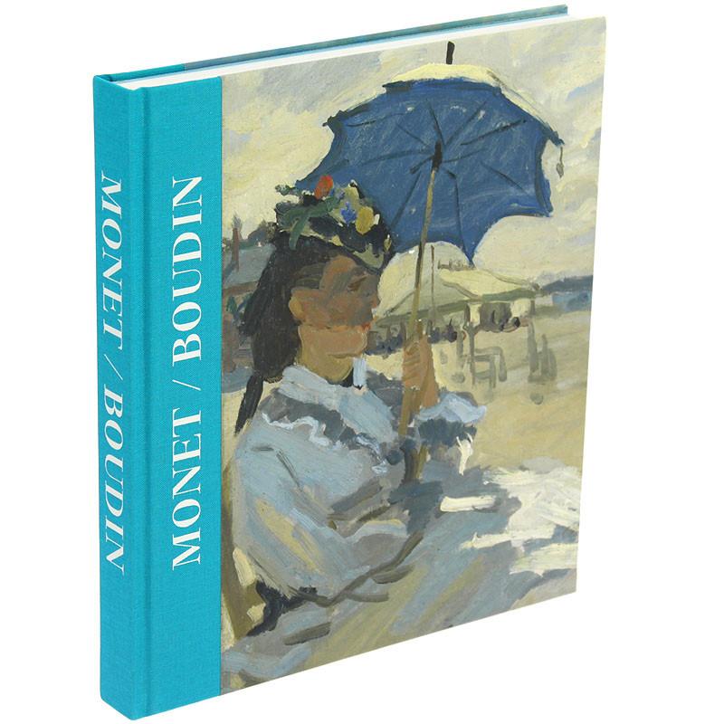 zoom Monet/Boudin. Exhibition catalogue. Spanish Hardcover