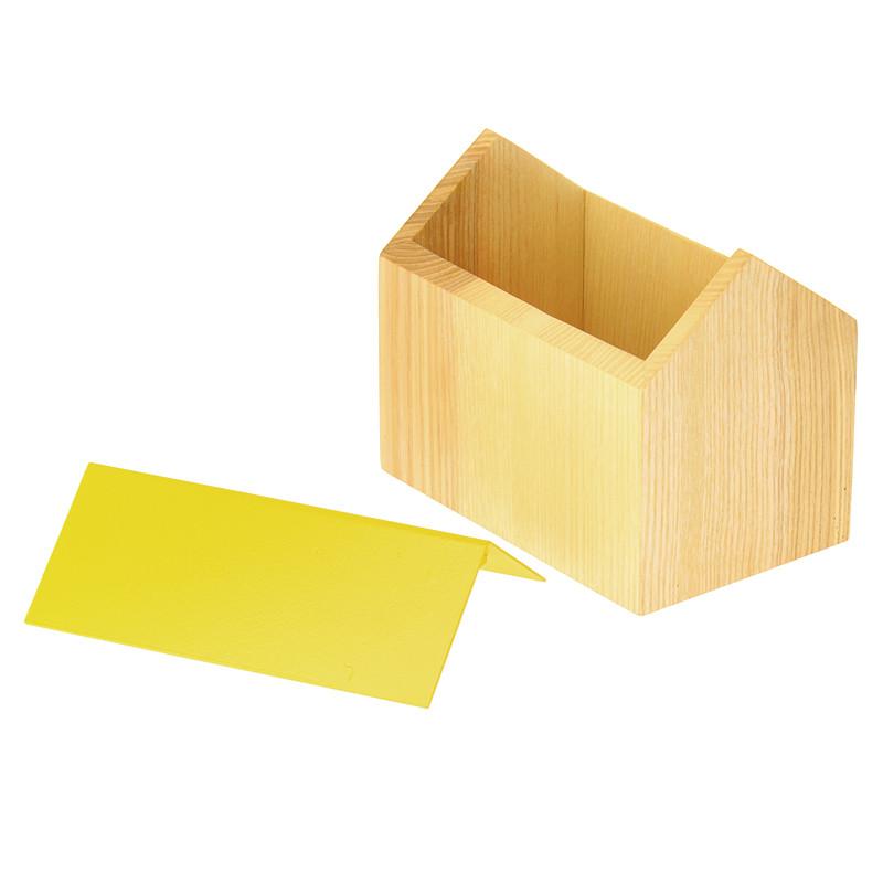 zoom Yellow House Box Les Vessenots