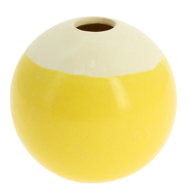 zoom Small Ceramic Yellow Piece Sonia Delaunay