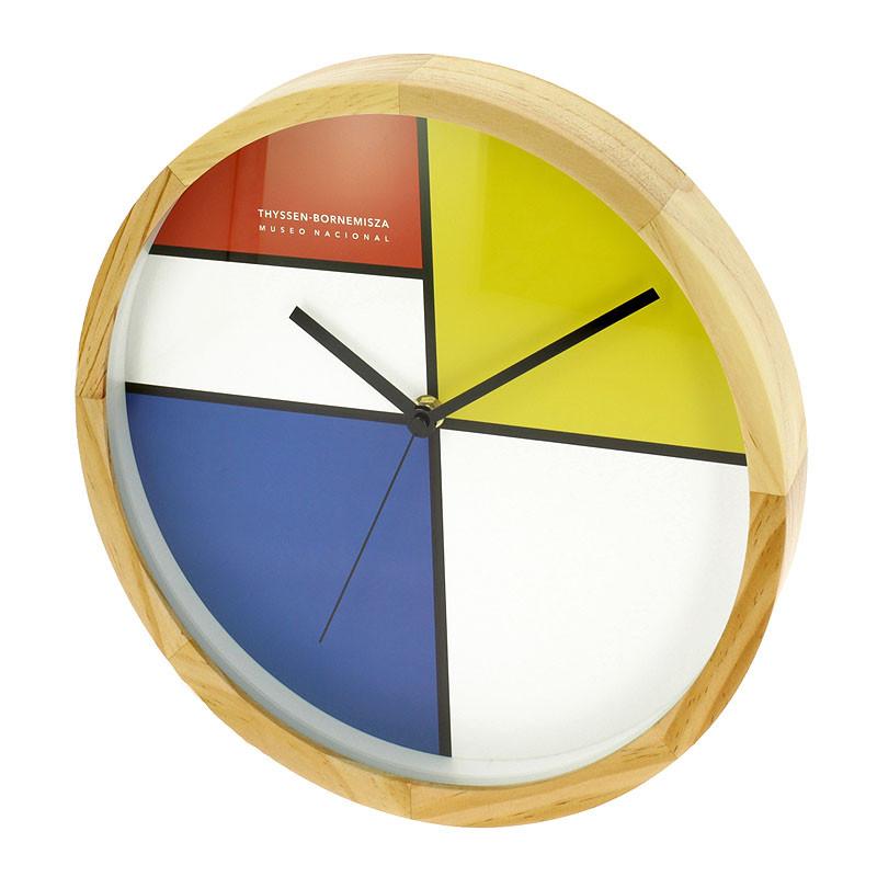 zoom Mondrian Wall Clock