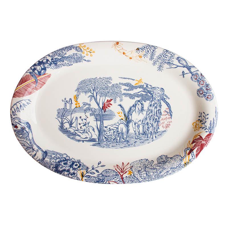 zoom Cartuja x Garden of Eden Porcelain Platter