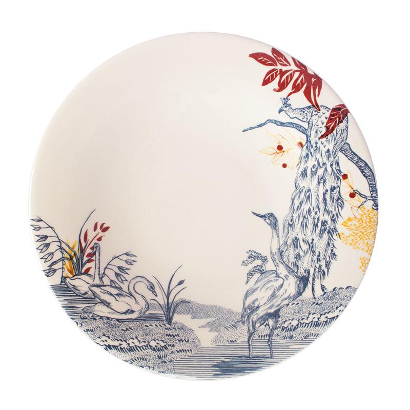 zoom Cartuja x Garden of Eden Porcelain Dessert Plate