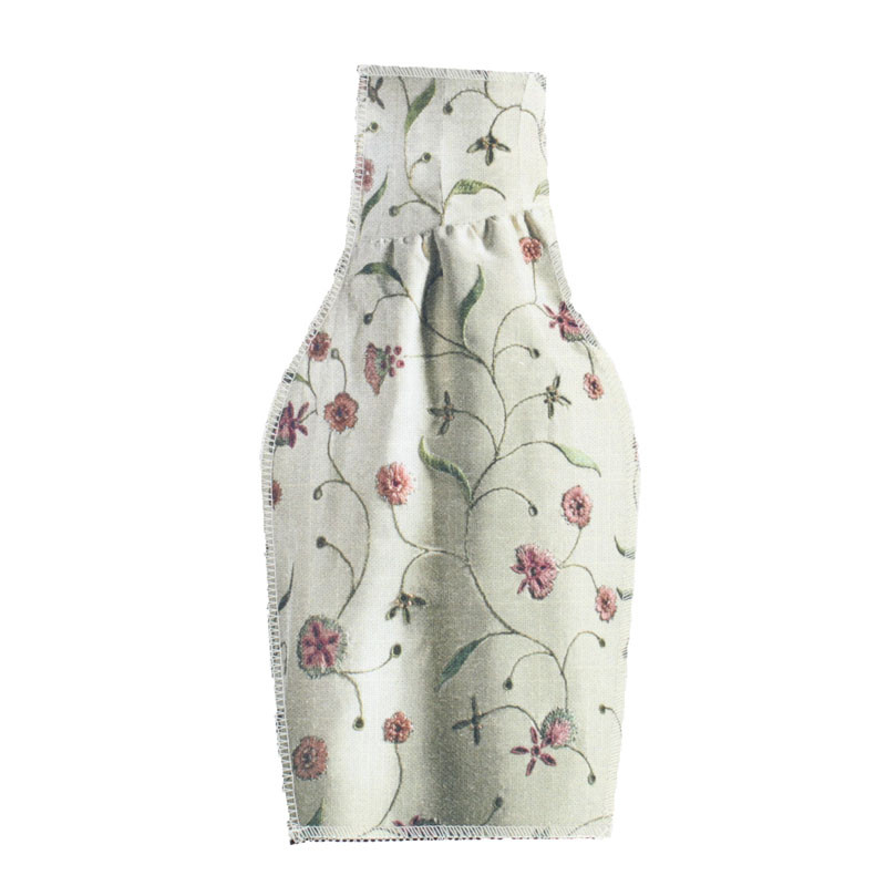 zoom Embroidered Textile Vase Cover