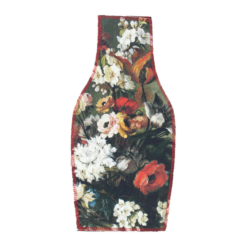 zoom Flowers Basket Textile Vase Cover