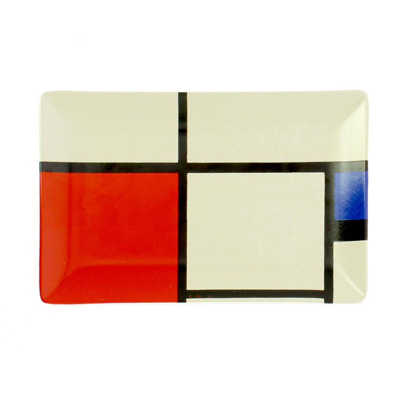 zoom Small Mondrian Ceramic Tray