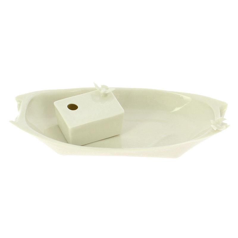 zoom Small Porcelain Tray: Bird