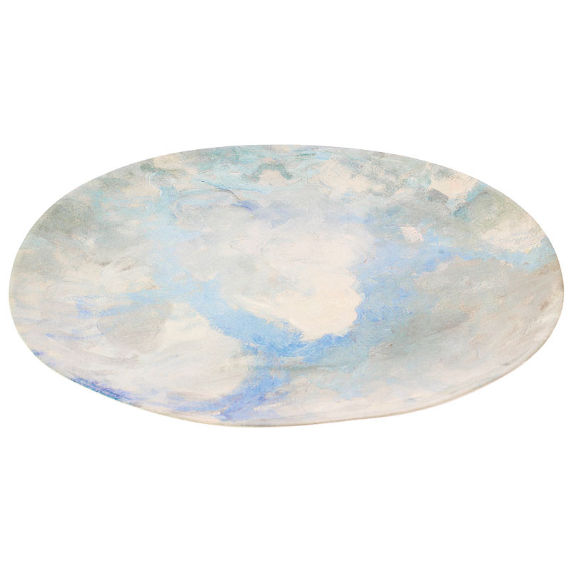 zoom Oval Tray Port Marly's Sky by Sisley