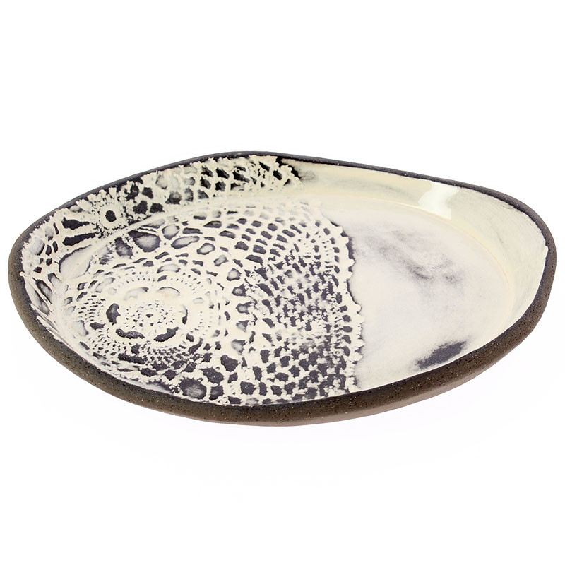 zoom Ceramic Tray. Rembrandt Portrait of a Young Gentleman