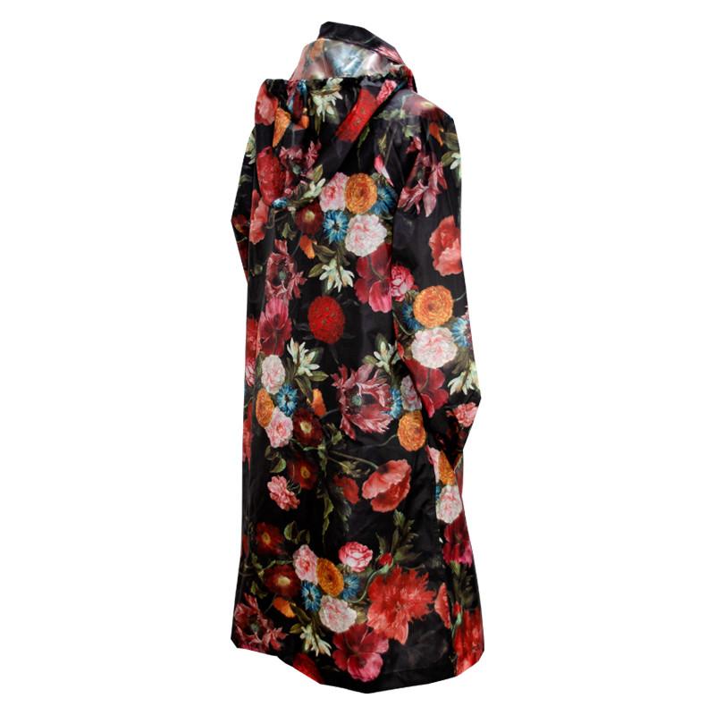 zoom Jacques Linard's Flowers Raincoat