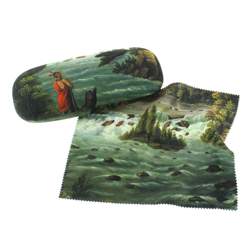 zoom Hard glasses Case with cleaning cloth The Falls of St. Anthony
