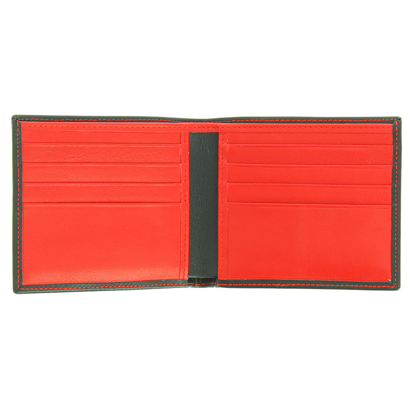 zoom Black and Red Wallet