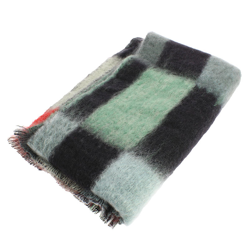 zoom Mohair Wool Stole. Simultaneous Dresses