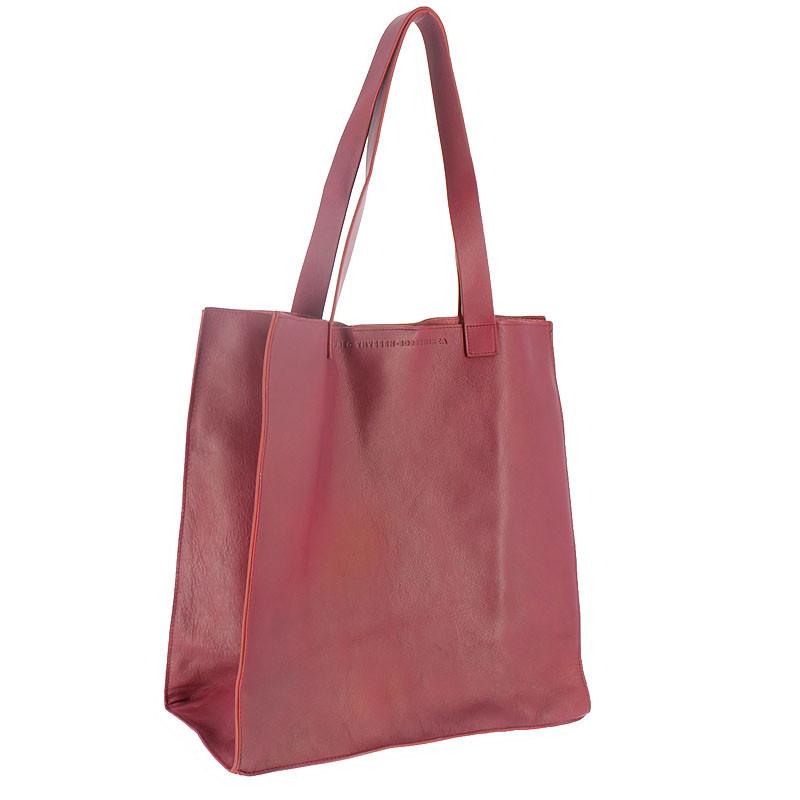 zoom Burgundy Leather Bag
