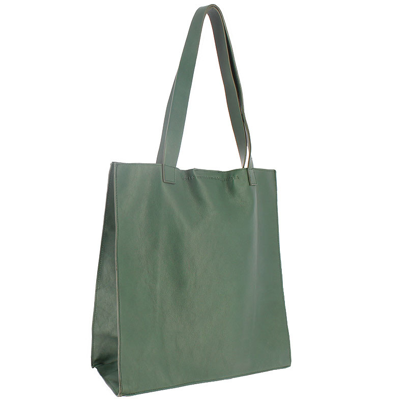 zoom Green Leather Bag