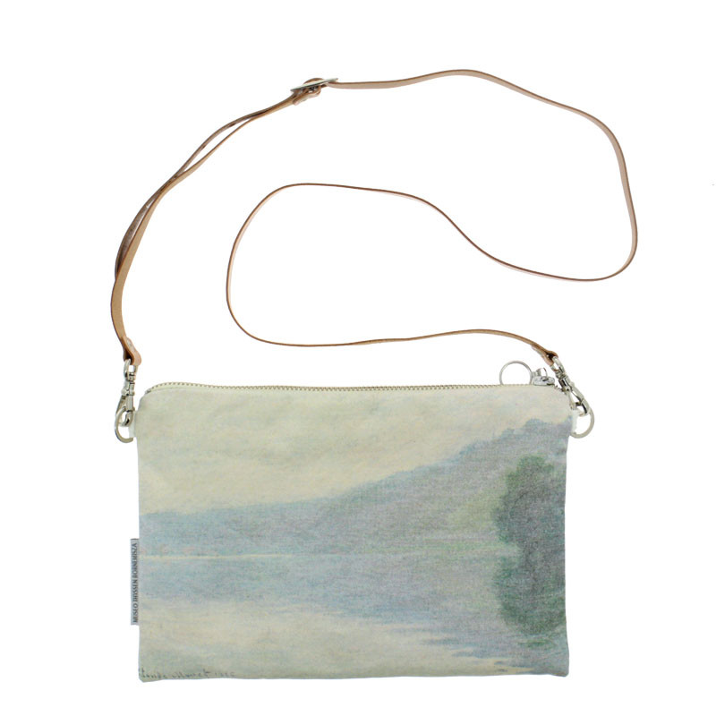 zoom The Seine at Port-Villez Shoulder Bag