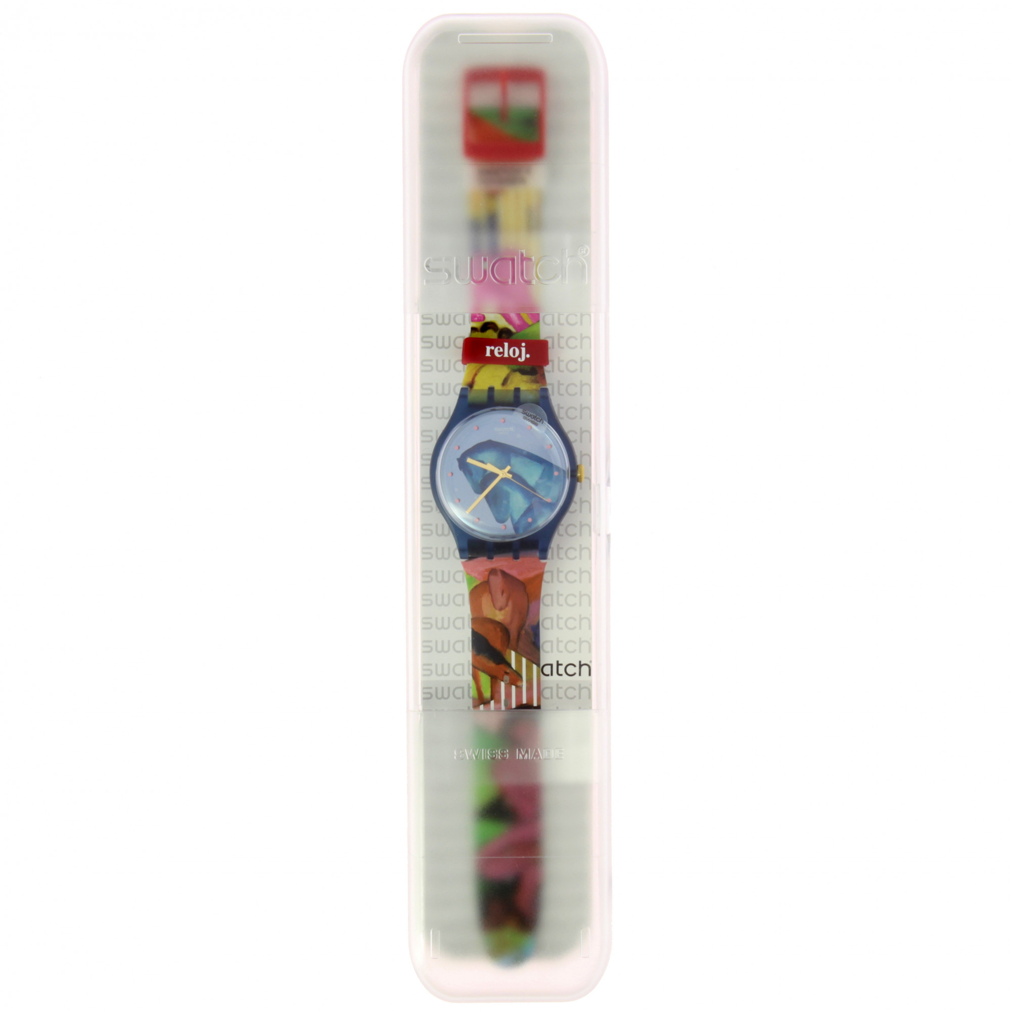 zoom Watch Swatch+Thyssen Franz Marc Sleepy Garden