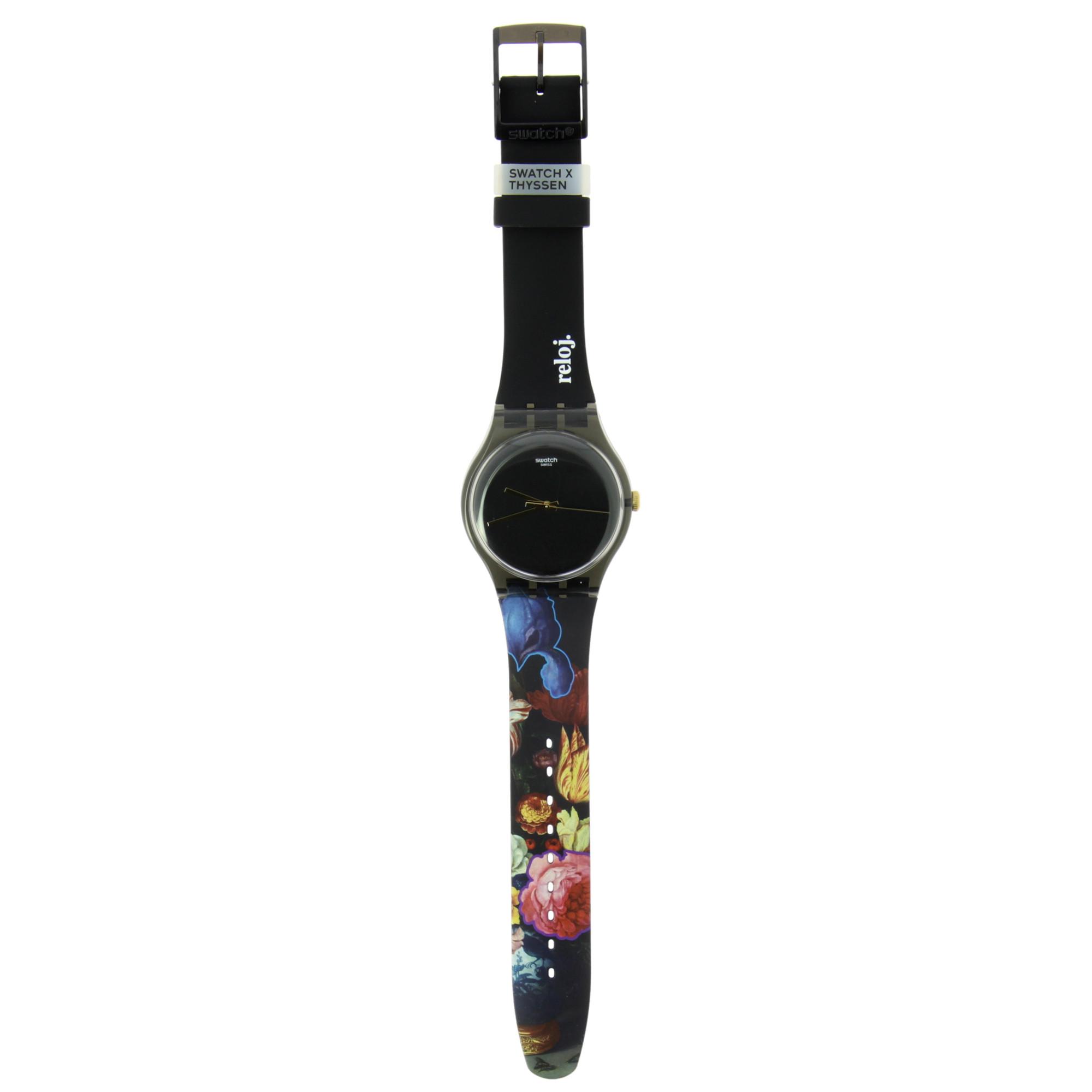 zoom Watch Swatch+Thyssen van der Ast Gracious Bouquet
